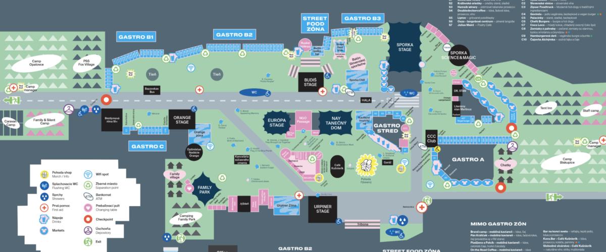 Gastro mapa POHODA 2019